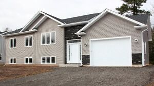 New energy efficient single-family home with an attached garage