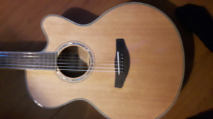 Combo deal! new acoustic/electric guitar with amp