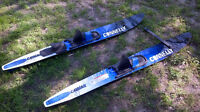 Connelly Cayman Water Skis with removable stabilizer bar