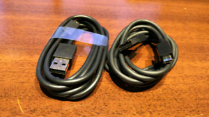 19AWG Micro USB cables (supports up to 3Amps)