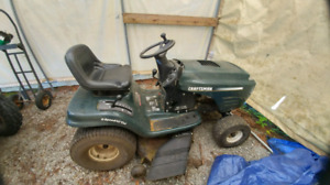 two craftsman 42 inch riding mowers for sale