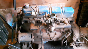 Ford 223 inline 6 cylinder engine and parts