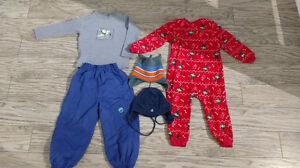 Lot de vêtement pour un garçon de 3 ans