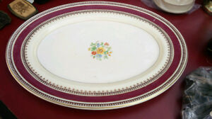 Oval Myott British made Plate
