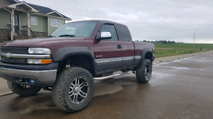 Lifted Chevy 2500