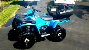 Polaris Sportsman 450 H.O. and trailer for sale