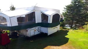 2007 Palomino Real lite 1406 tent trailer, pop up