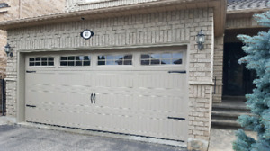 16x7 INSULATED GARAGE DOORS..... $1500 INSTALLED