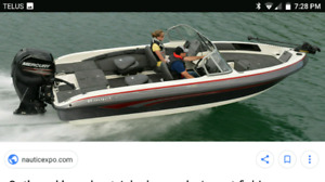 WANTED inboard or outboard boat fiberglass or aluminum