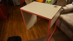 White and pink desk *SOLD* Kitchener / Waterloo Kitchener Area image 1