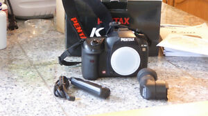 PENTAX K20d BODY and accessories