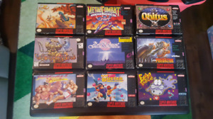 Super Nintendo Boxed Games
