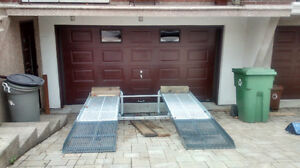 rampes de nivellement pour autos ( drive way level ramp)
