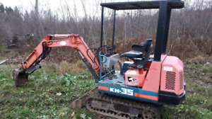 TRADE MY EXCAVATOR FOR HUNTING LAND
