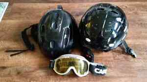 50$ for 2 helmets size small