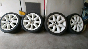 Mini Cooper S Rims White