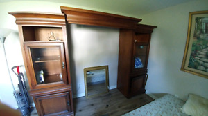 Entertainment unit without TV stanf
