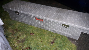 Check plate truck tool box