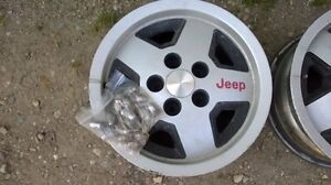 Jeep rims for sale London Ontario image 1