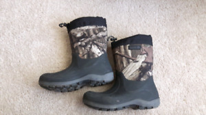 Like new...Kamik Winter boots..only worn 3 times. Size 6 boys.