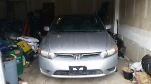 Saftied 2006 Honda Civic Coupe