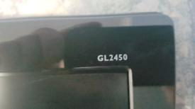 """BENQ GL2450 LED MONITOR 24"""" 1080P"""