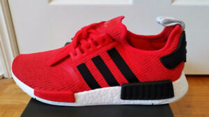 Adidas NMD R-1 Core Red BNDS size 12