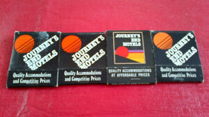 Matchbook Covers-Journey's End Motels Kitchener / Waterloo Kitchener Area image 1