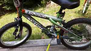 16 inch Avigo Rattlesnake bicycle