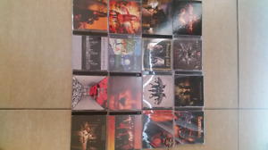 160 cd de metal , métal symphonique , hard rock