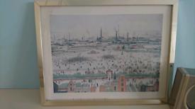 Lowry 1957 framed print