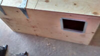 macaw nesting boxes