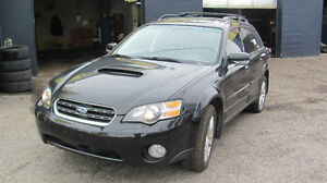 2005 Subaru Outback Wagon 5door ,Auto ,Loaded ,Safety e test