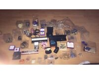 Job lot Loads of custom jewellery and about 6 river island watches job lot