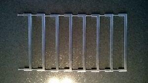 Poignées 224mm stainless brossé