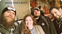 Live Music provided by Hone the Craft