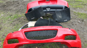 MAZDA BUMPER COVERS and MUFFLER SYSTEM
