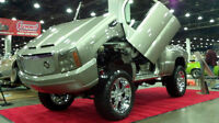 Custom Built Sierra with Cadillac Front End