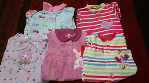 Girls 3 month sleepers