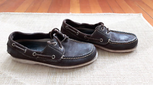 Timberland leather boat shoes 7M