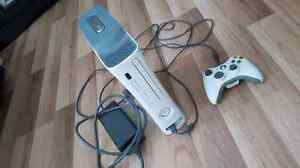 Xbox 360 for sale, one controller, asking $80 Or Best Offer.