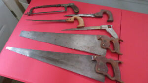 Set of Hand Saws