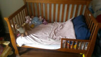 3-in-1 crib and mattress