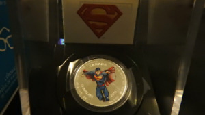 1/2 oz $15 Fine Silver Coin - Modern Day Superman™ (2013)