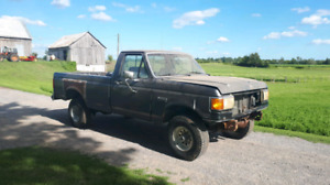 1987 Ford f150 efi 4x4 for parts