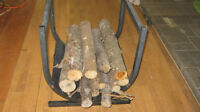 Fire wood caddie for fireplace or beside wood stove