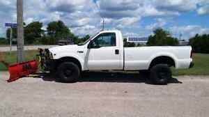 99 Ford F250 4x4, 8'Myer's Plow, 99km, Reduced