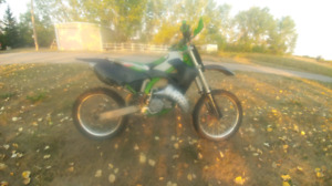 2001 kx125 woods bike