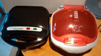 George Foreman Grill and Grilled Cheese Maker