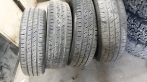 185/65R15 continental summer tires